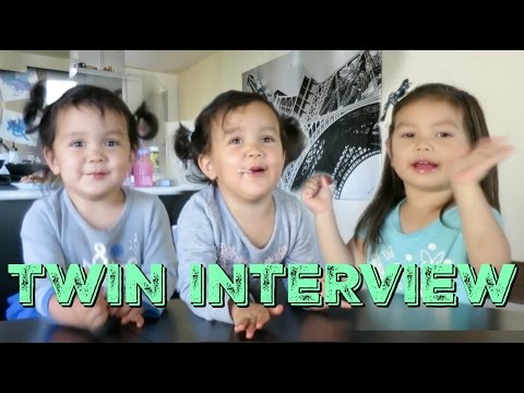 Thumbnail: Interview of the Twin Sisters! - itsMommysLife