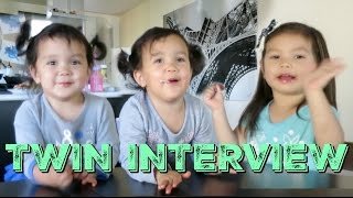 Interview of the Twin Sisters! - itsMommysLife