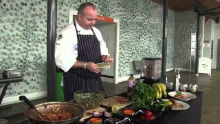 Cajun Spiced Chicken Thigh - Chartwells Campus Cooking Demonstration