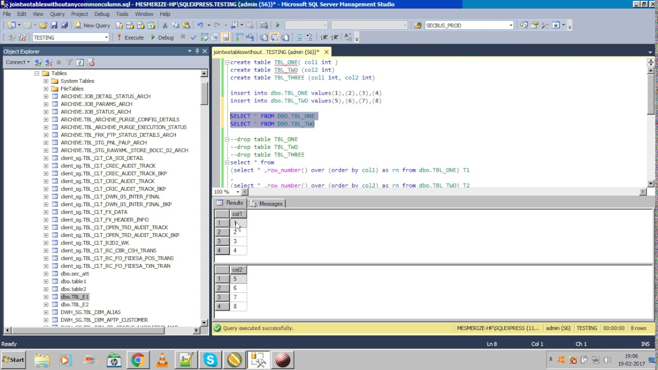 how to delete table in sql server 2008