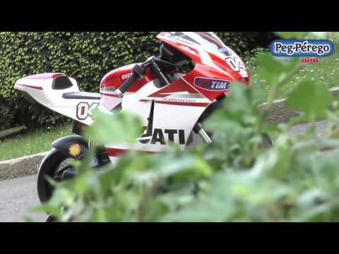 Peg Perego Ducati GP Akülü Motosiklet