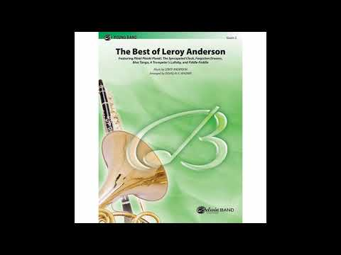 The Best of Leroy Anderson arranged by Douglass E. Wagner