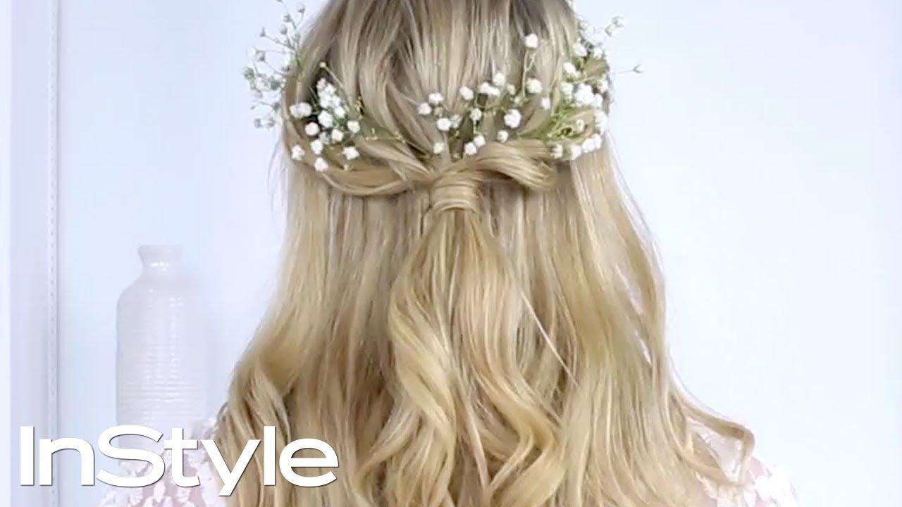 a boho twist to classic wedding hair | instyle