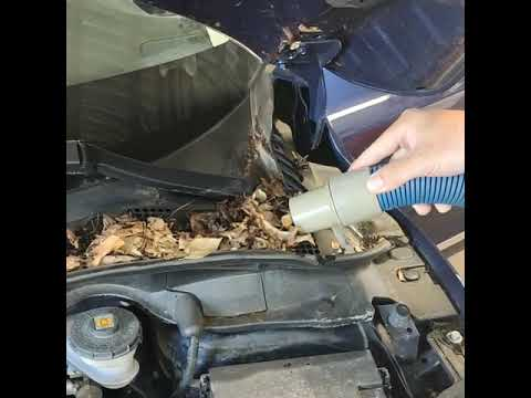 Best way to clean the dirt from an engine bay