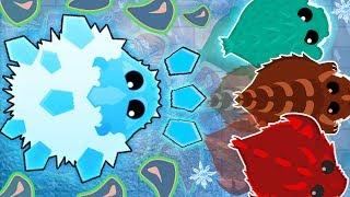 Mope.io new ICE MONSTER KILL ALL ANIMALS! Моп ио новый ЛЕДЯНОЙ МОНСТР!