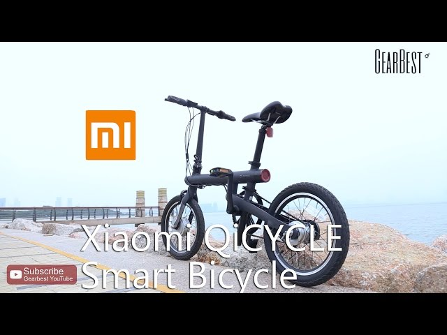 2d2016d896c QiCYCLE EF1 Smart Electric Bike from Xiaomi mijia | Gearbest