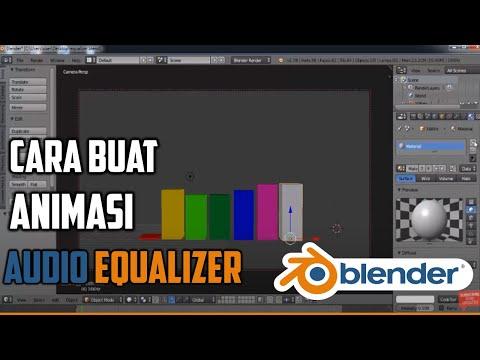 Cara Membuat Animasi Audio Equalizer Pada Aplikasi Blender 3d