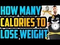 How Many CALORIES Should I Eat to LOSE WEIGHT | how many calories do i need | calorie intake to loss