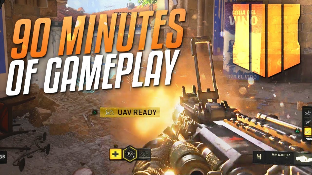 Black Ops 4 90 Minutes Of Gameplay Call Of Duty Black Ops 4