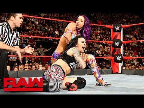 Sasha Banks vs. Ruby Riott: Raw, April 30, 2018