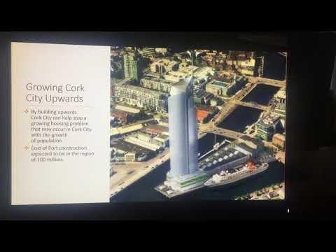 Presentation on the development of Cork City