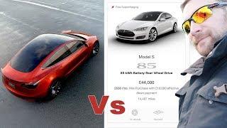Model 3 vs CPO Model S