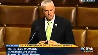 Womack Talks U.S. Marshals Coin on House Floor