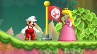 Newer Super Mario Bros. Wii - 2 Player Co-Op - #1