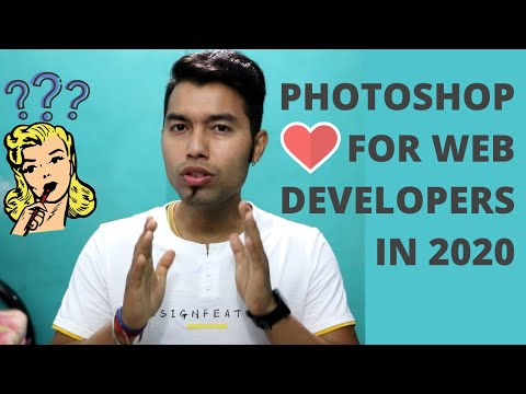 Do Web Developers Need To Learn Graphic Design In 2020 | Photoshop For Front End Developers In 2020