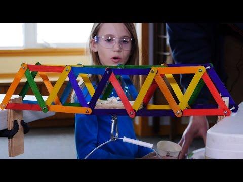 Make Your Own Truss Bridge | Xplore Engineering