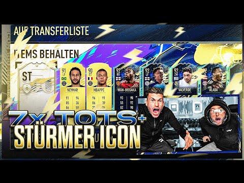 UFF!! PACK LUCK in TOTS PLAYER PICKS + ICON STÜRMER PACK 😱😳ANGESPANNTE STIMMUNG .. 🤬 FIFA 21