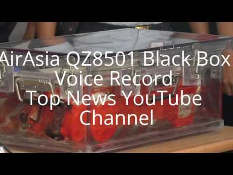 URGENT: AirAsia QZ 8501 Black Box Voice Record (Raw Record)