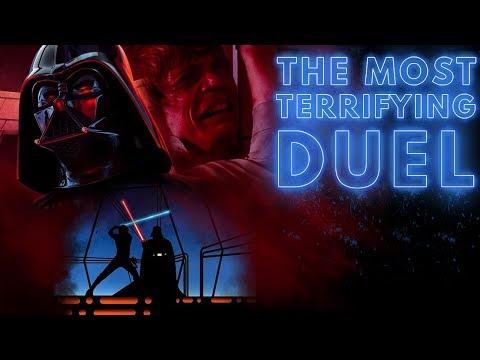 Star Wars: The Most Terrifying Lightsaber Duel Ever (Luke V Vader)