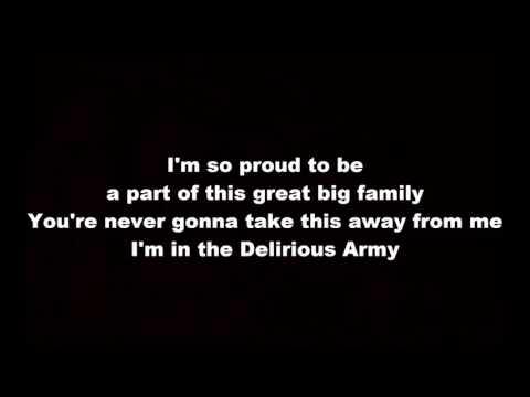 Delirious Army - The Spaceman Chaos (lyrics)