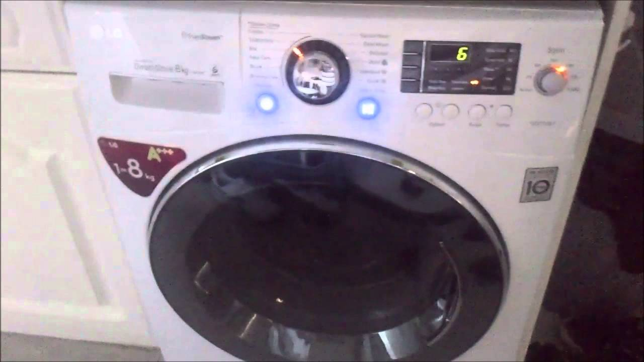 lg 9000 washing machine