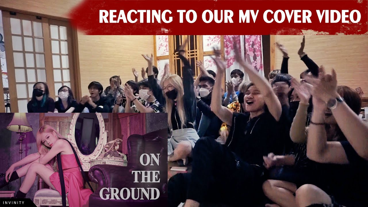 KENNSEOLNI AND DANCERS REACTING TO THEIR OWN MV COVER