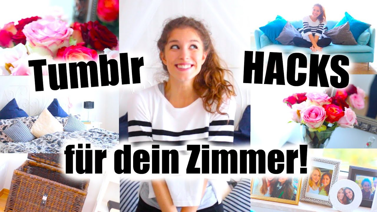 10 tumblr hacks f r dein zimmer einfach g nstig barbieloveslipsticks youtube. Black Bedroom Furniture Sets. Home Design Ideas
