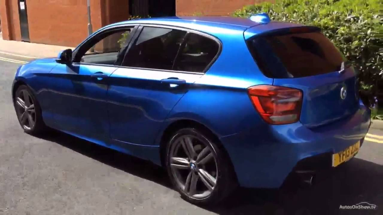 bmw 1 series 118d m sport blue 2013 youtube. Black Bedroom Furniture Sets. Home Design Ideas