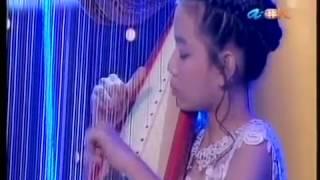 Christabelle Sheum(Harpist),Symphony 92.4FM's Young Talents Project 2013