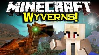 Minecraft WYVERN MOB MOD Spotlight! - NEW Mo' Creatures Mob! (Minecraft Mod Showcase)