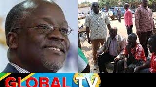 Cheki Siku Rais Magufuli Alipokaa Kijiweni na Masela