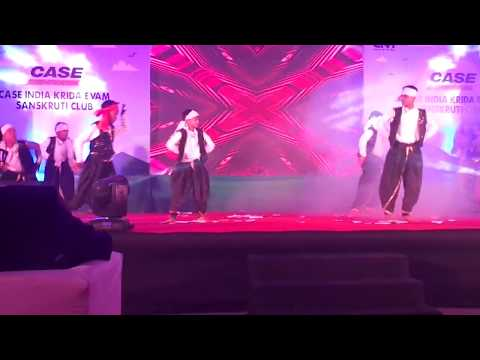 Bhavani Campus Dance Group Rau, Dance in CASE Construction Annual Function 2018, in Shell City