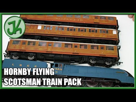 Hornby Flying Scotsman Train Pack - Unboxing and Review
