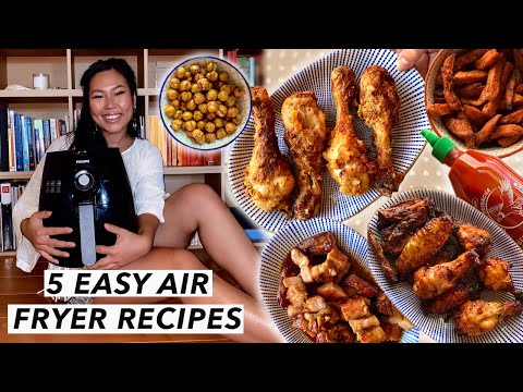 5 Easy Air Fryer Recipes For Beginners
