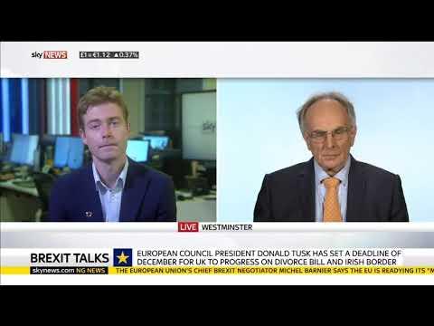 Pro Brexit Peter Bone MP Schools an EU Fanatic on Brexit Talks