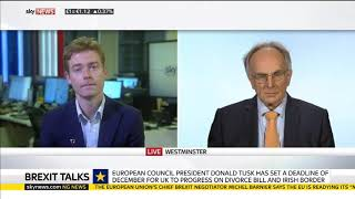 Pro Brexit Peter Bone MP Schools an EU Fanatic on Brexit Talks