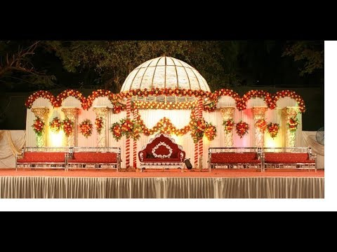 How To Decoration Marriage Reception Stagewedding Reception Stage
