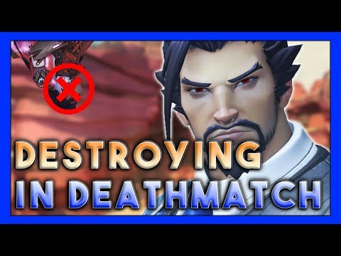 Destroying in Deathmatch! - Seagull - Overwatch thumbnail