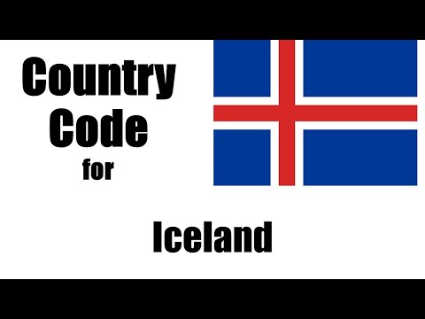Iceland Dialing Code - Icelander Country Code - Telephone Area Codes in Iceland