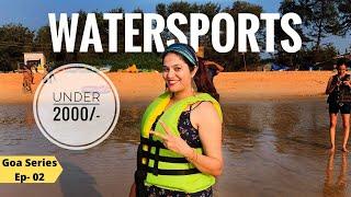 Water Sports in Goa Under ₹2000 | Goa Tourism | Goa Beyond Beaches