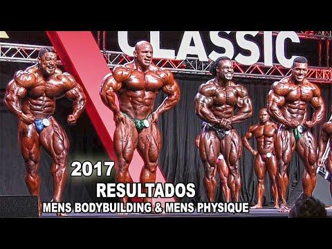 ARNOLD CLASSIC BARCELONA 2017 - RESULTADOS