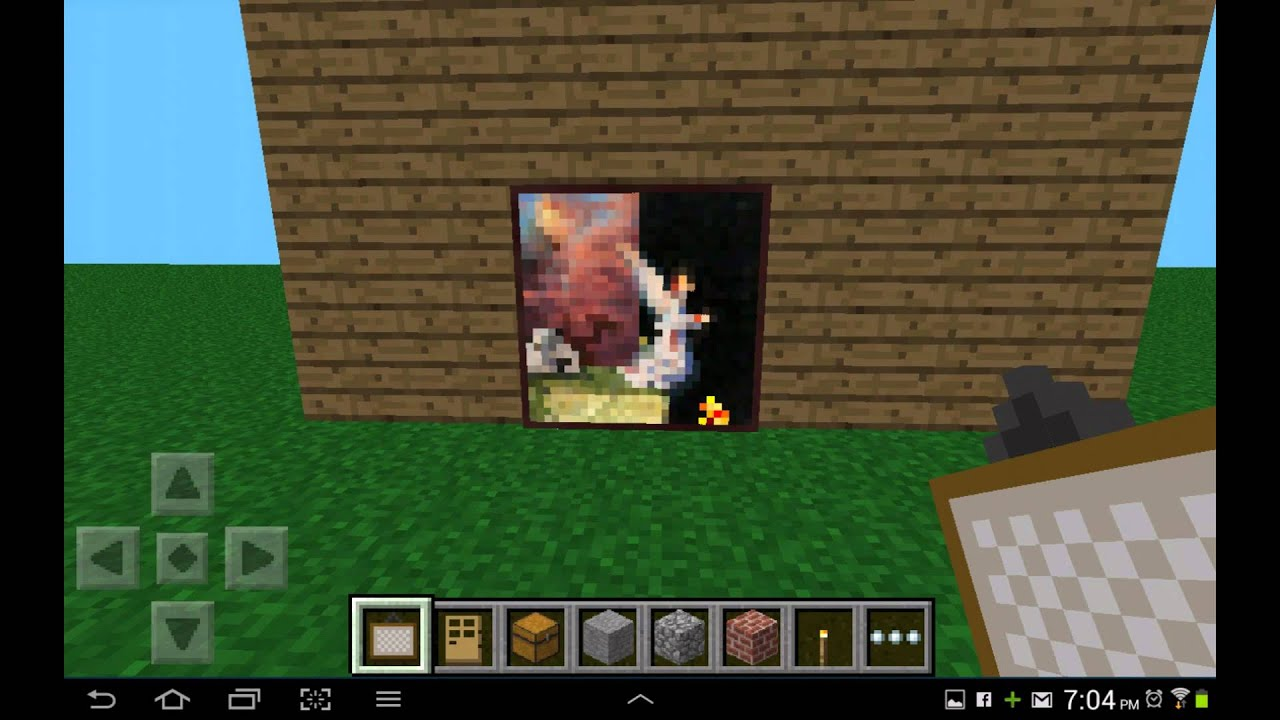 Minecraft Can You Walk Through Paintings