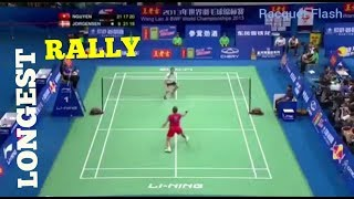 Cover images Longest and craziest rally in Men's Singles in BADMINTON history ||Jan O Jorgensen vs Tien