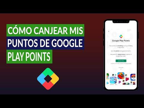 Cómo Canjear mis Puntos de Google Play Points ¿Cuántos Niveles Tiene el Programa de Puntos?