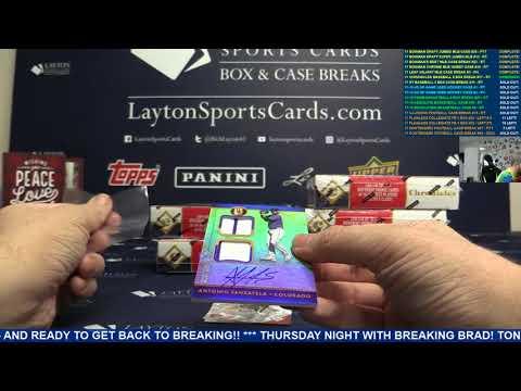 2017 Panini Chronicles Baseball Hobby 8 Box Break #17 – RANDOM TEAMS