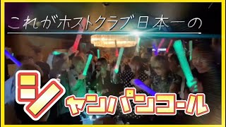 【初公開】ホストクラブ日本一のシャンパンコールを公開します!