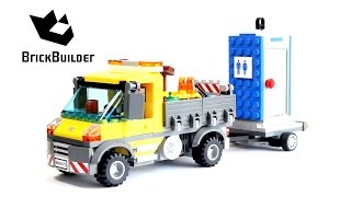 Lego City 60073 Service Truck - Lego Speed Build