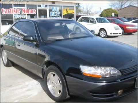Wonderful 1996 Lexus Es 300 Lubbock Texas
