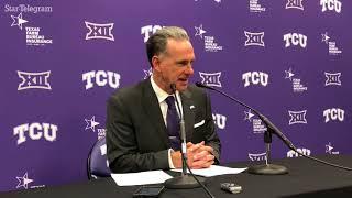 TCU's Dixon talks about injury to Fisher