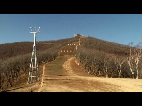 No Snow, No Lifts: North Korea's Lavish Ski Resort